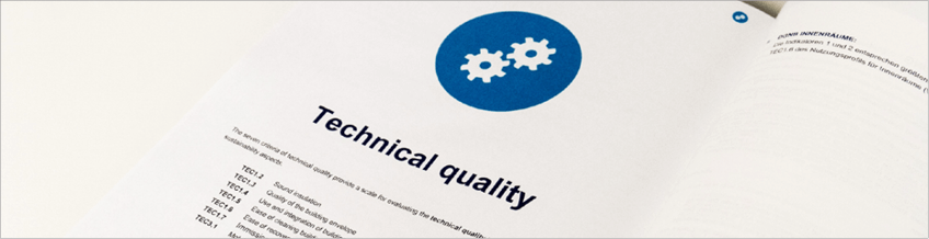 DGNB criteria technical quality