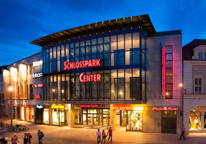 Schlosspark Center Schwerin Läden