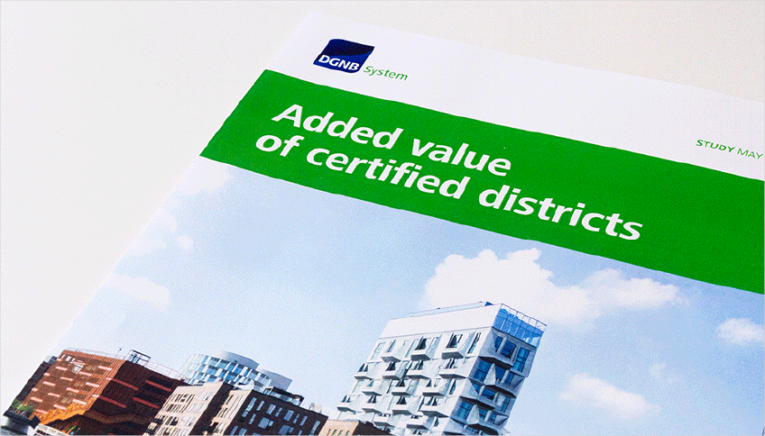 "Study ""Added value of certified districts"""